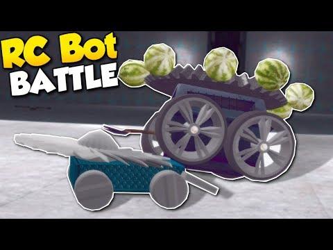 RC BATTLE BOT CHALLENGE! - Garrys Mod Gameplay - Gmod Battle Bot Building