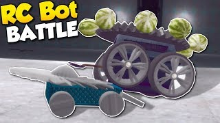 RC BATTLE BOT CHALLENGE! - Garry