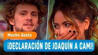 Declaración de Joaquín que dejó a Camila sin palabras - Mucho Gusto 2018