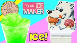 Testing A Vintage Junior Chef Polar Ice Snow Cone Maker By Coleco