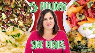 5 Holiday Side Dishes | Holiday Recipes | Well Done