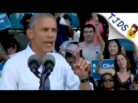 Obama Goes Full Hypocrite In Stumping For Hillary