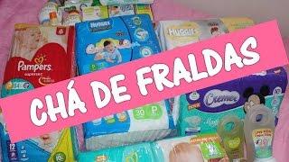 DICAS DE CHÁ DE FRALDAS   QUANTIDADE DE FRALDAS   CUSTO BAIXO #2