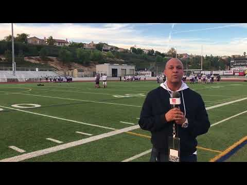 David Hill HSPN West Valencia HS, Valencia, CA., PRE GAME CIF SS CHAMPIONSHIP COVERAGE