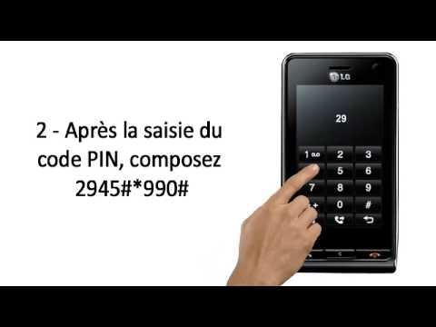 Comment Debloquer telephone Portable LG KU990 Viewty