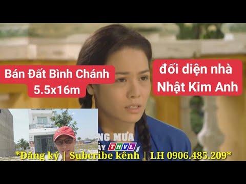 Bán Đất Bình Chánh 5.5x16m đối diện nhà Ca Sĩ Nhật Kim Anh | Sổ hồng riêng | LH 0906485209
