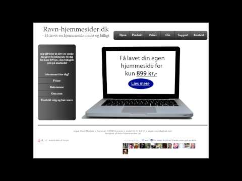 Ravn-Hjemmesider.dk - Biografreklame