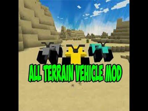 All Terrain Vehicle Mod| 1.7.2| MOTOCICLETAS EN MINECRAFT