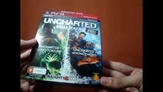 Unboxing Uncharted Dual Pack