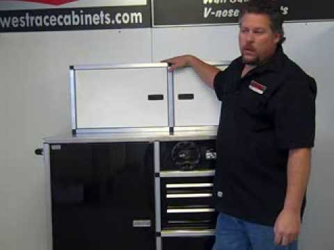 wall cabinet midwest race cabinets - youtube