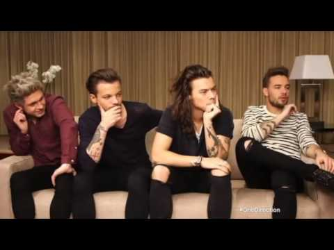 One Direction interview with Alison Hammond ITV