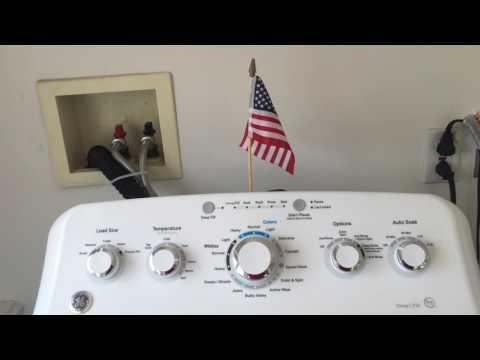GE Washing Machine model GTW460ASJ4WW