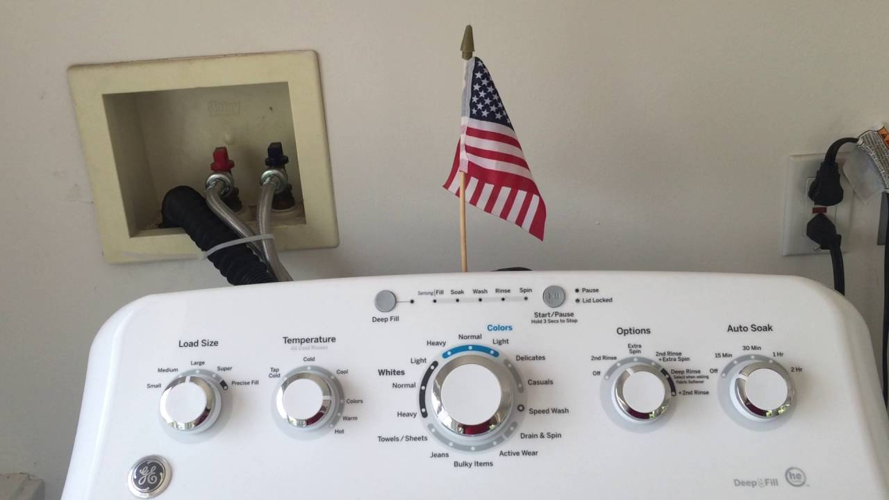 Ge Profile Washer Motor Reset