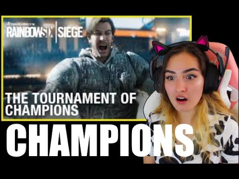 Rainbow Six Siege: The Tournament of Champions Reaction