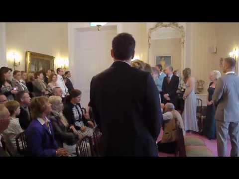 huwelijk victor en irene - binnenkomst zaal