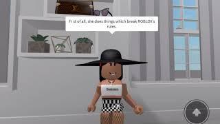 Why I hate Lisa Gaming Roblox!