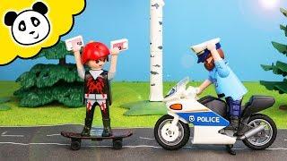 Playmobil Polizei - Kevin flieht vor der Polizei! Playmobil Film