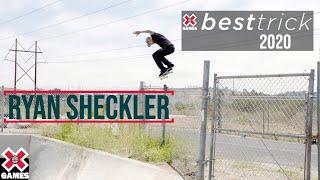 Ryan Sheckler: REAL STREET BEST TRICK 2020 | World of X Games