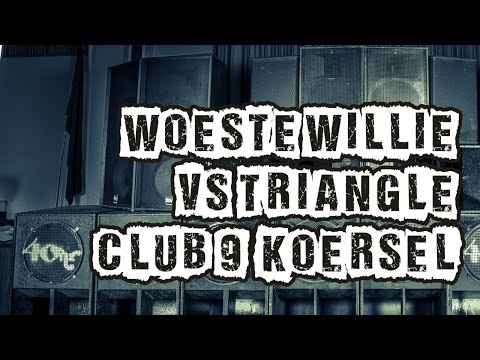 Jamsessions: Woeste Willie & Triangle Full Hardcore Early Gabber mix (Club 9, Koersel, Belgium)