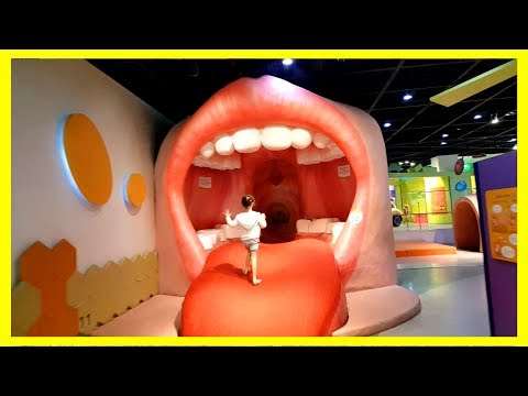 CHILDREN'S MUSEUM Pretend Play! Family Fun Body Experience for Kids 어린이 교육 박물관