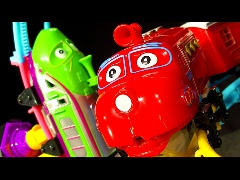 Chuggington Roller Coaster Dark Side Knock Off Ep1.5 - Train Accidents, Crashes And Smashes