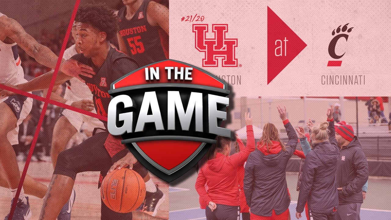 Coogs Face Off Against Cincinnati | In The Game