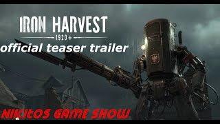 Iron Harvest 1920+ official teaser trailer