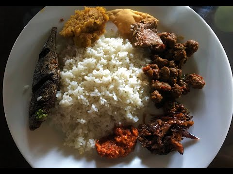 An Eatery Serving Non Vegetarian Buffet Lunch