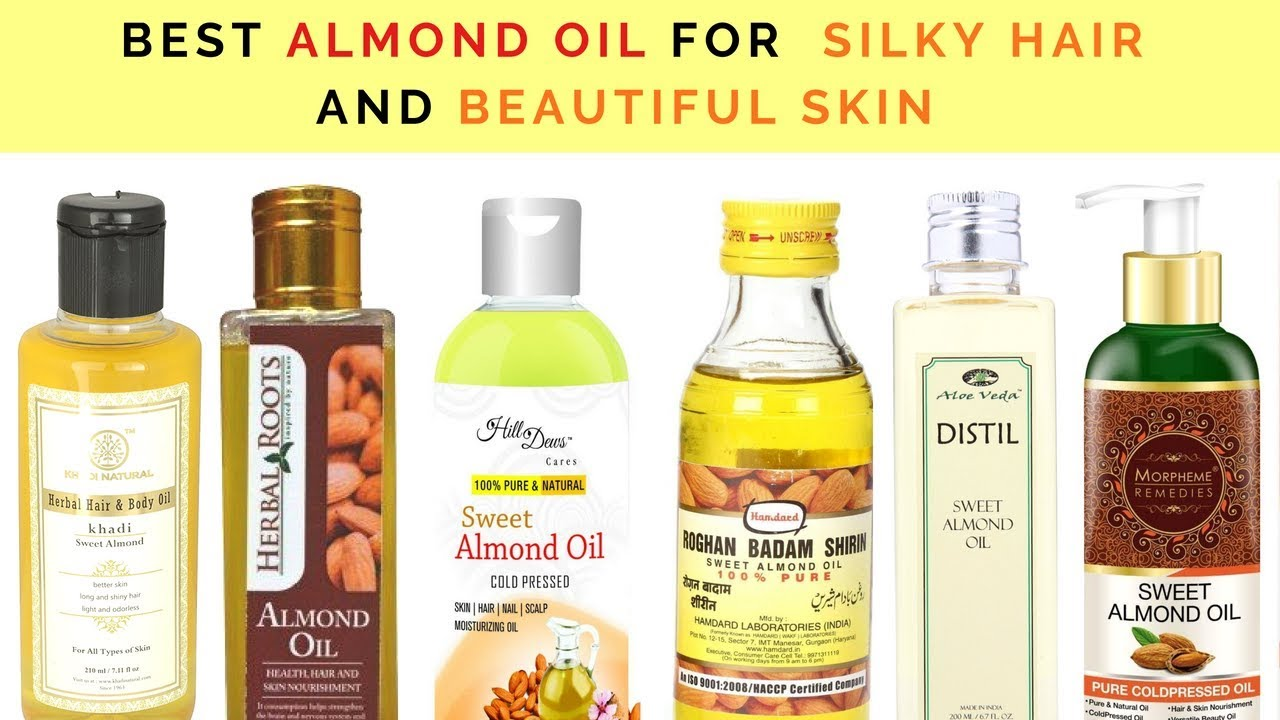 10 Best Almond Oil For Silky Hair And Beautiful Skin In