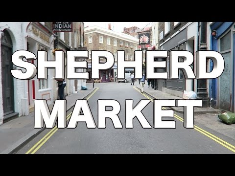 Shepherd Market London Coffee Shop Cafe 10...