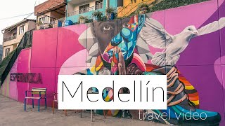 Colombia travel | Medellin | Highlights | DJI Osmo Action 4k video