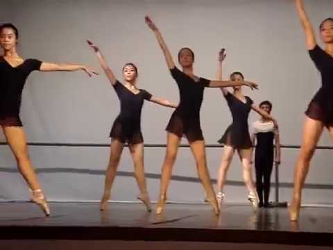 Vietnam Dance College  Bejart Ballet  4th class  2006