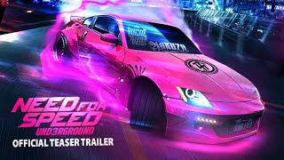 Need for Speed Underground 3 - Teaser trailer 2019