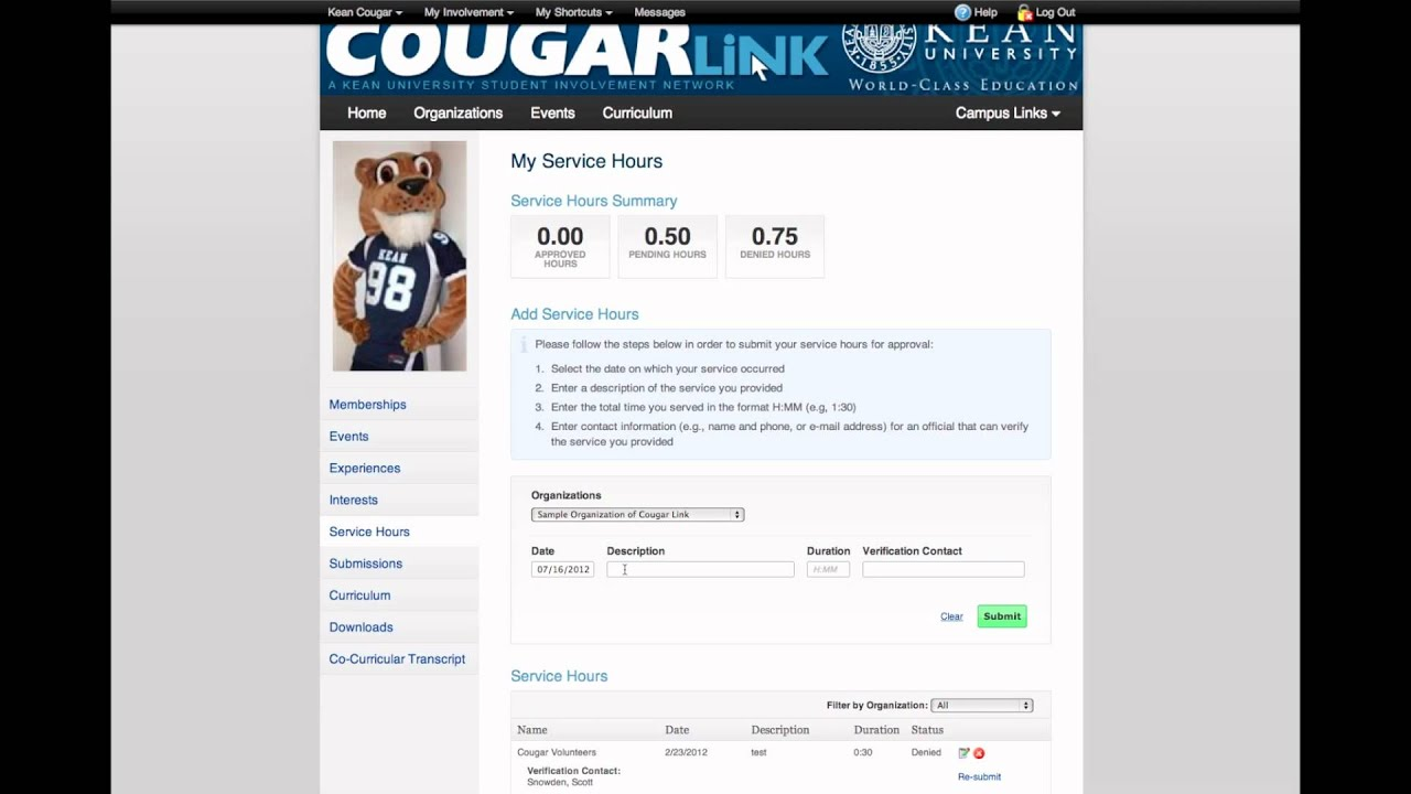 Cougar link dating service