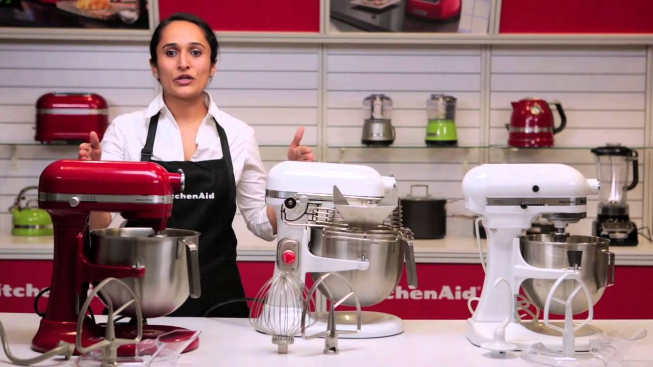Kitchen Aide Mixer Red Decor For Kitchenaid® Bowl Lift Stand Models - Youtube