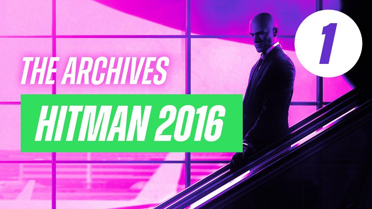 Sucking at Hitman #1 – Livestream Archive