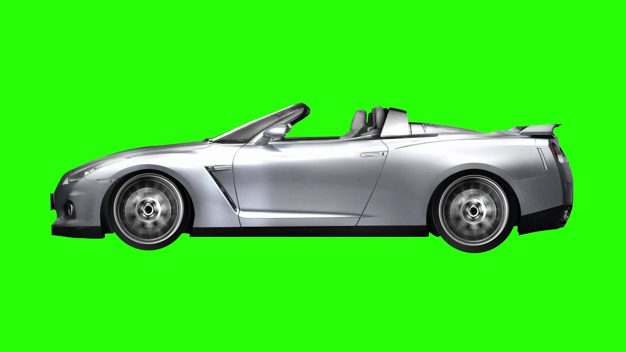 Car Driving Animated Green Screen Youtube
