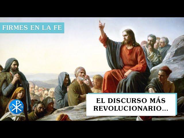 El discurso más revolucionario… | Firmes en la fe - P Gabriel Zapata