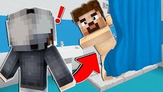 FAKİR'i BANYO YAPARKEN YAKALADIM! 😱 - Minecraft