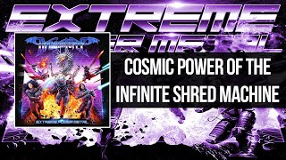 DragonForce - Cosmic Power Of The Infinite Shred Machine   Lyrics Video