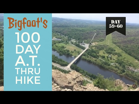 100 Day AT Thru Hike: Days 59-60- Hamburg to Wind Gap