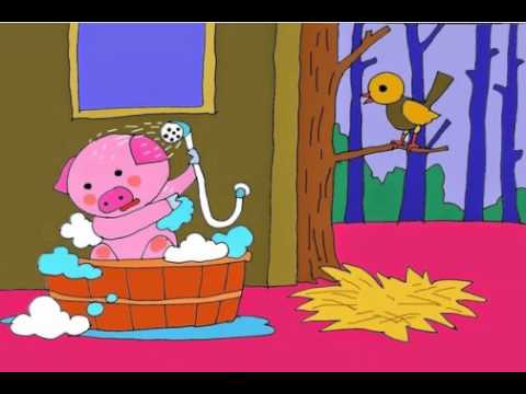 Truyện thiếu nhi: Lợn con sạch lắm rồi