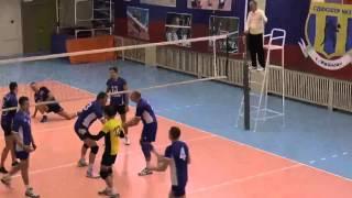 Волейбол. Лучшие нападающие удары второго тура