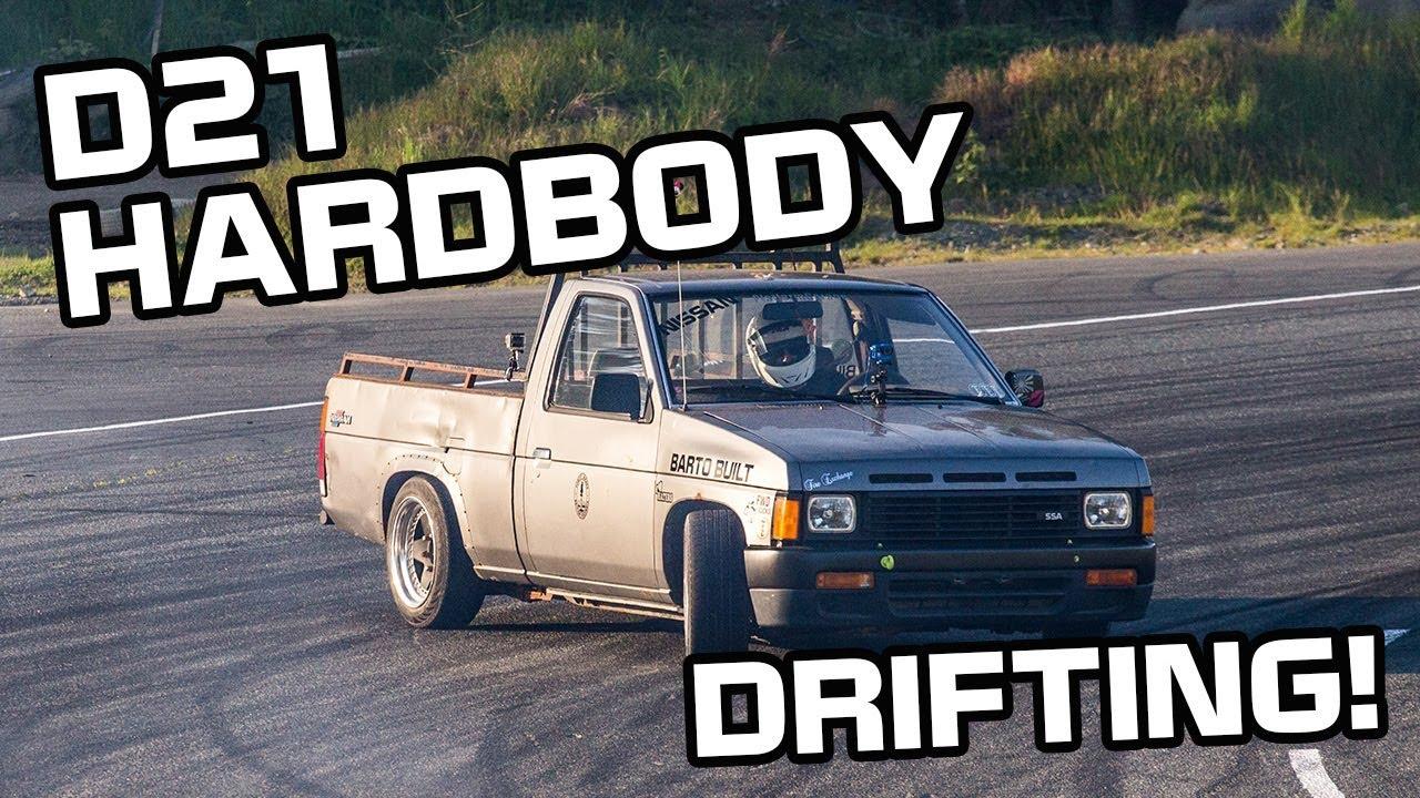 89 nissan d21 drift
