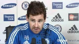 Chelsea manager Andre Villas-Boas: Fernando Torres is going nowhere