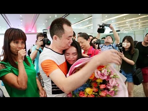Girl adopted by US family reunited with Chinese parents after 13 years