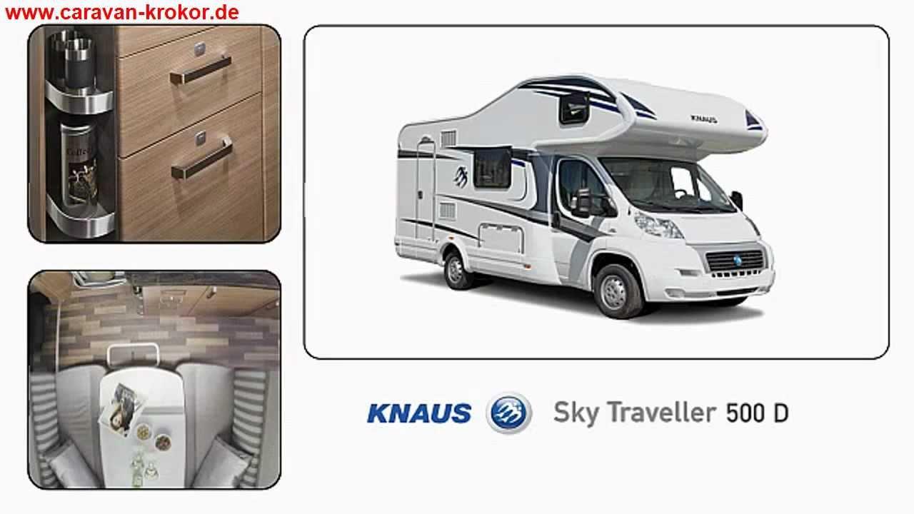 knaus sky traveller 500 d modell 2013 reisemobil caravan. Black Bedroom Furniture Sets. Home Design Ideas