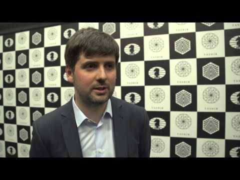 Candidates Tournament 2016 | Round 11 – Interview with Peter Svidler