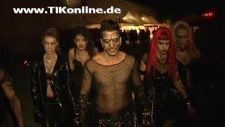 Marc Terenzi schockt seine Fans! Horror Nights im Europa Park Rust 2009