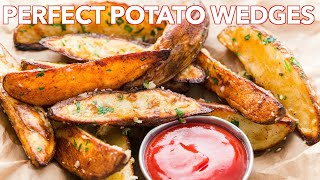 Appetizers: Baked Potato Wedges